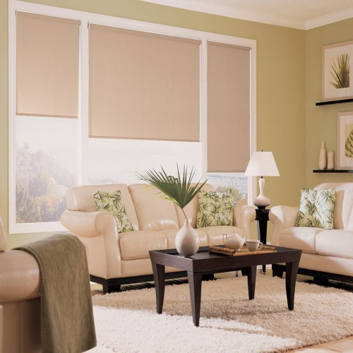 Washable Roller Blinds  Pink Powder