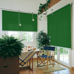 Washable Roller Blinds Flag Green