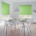 Cortina Enrollable Lavable Verde Claro