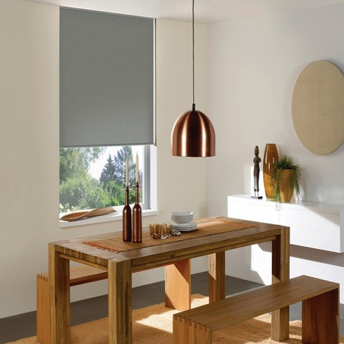 Washable Roller Blinds Dark Grey